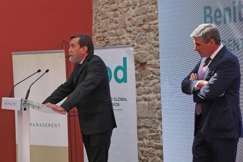 Acto de entrega del I Premio al Directivo del Año.