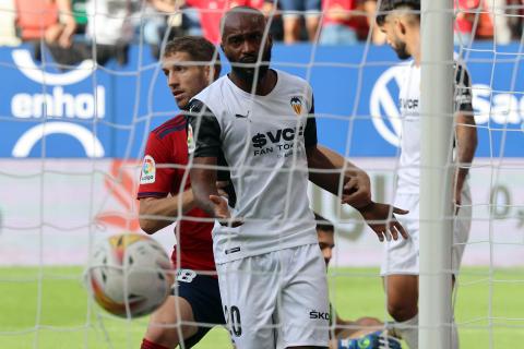 Imagen del partido Osasuna-Valencia de la jornada 4 de la LigaSantander.