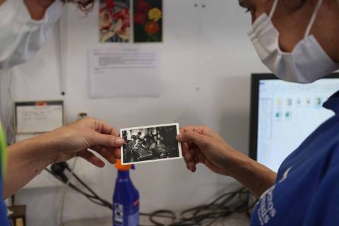 Fotos Traperos de Emaús, en Berriozar.