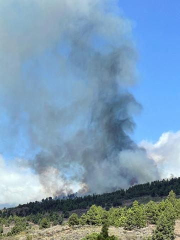 Fotos de la erupción del volcán Cumbre Vieja de La Palma