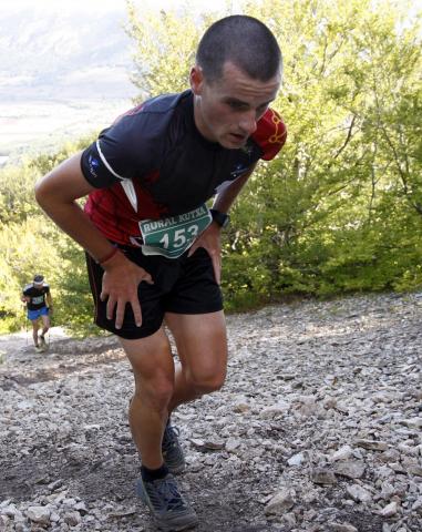 Fotos de los participantes en la carrera km vertical Uharte Arakil - Beriain.