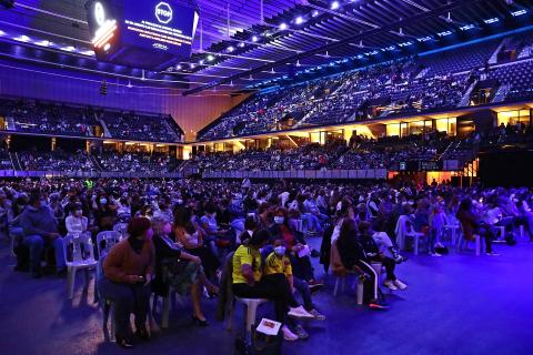 Concierto de Camilo en el Navarra Arena de Pamplona.