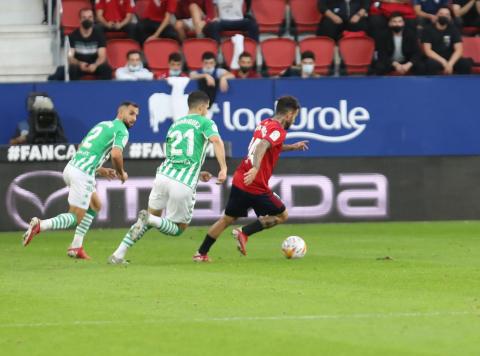 Fotos del Osasuna-Betis