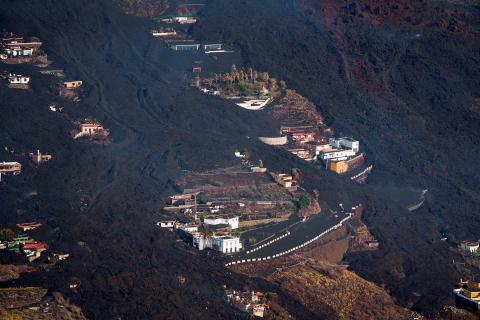 Fotos de la erupción del volcán Cumbre Vieja de La Palma.