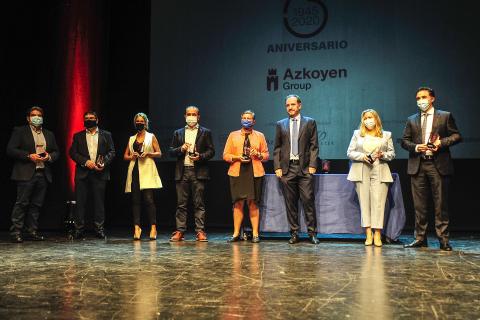 La fiesta de 75 aniversario del Grupo Azkoyen, en imágenes