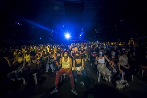 Concierto de Nathy Peluso en el Navarra Arena de Pamplona