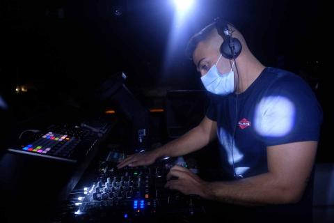 Imanol Reyes, 23 años, diyey de la discoteca