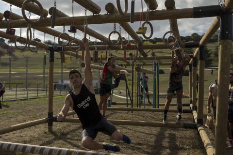 Pruebas de las 'Gladiators Day'