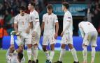 Decepción en los jugadores españoles tras ser eliminados