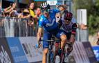 Alejandro Valverde celebra su triunfo en la tercera etapa del Giro de Sicilia