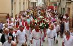 Imágenes del acto en honor a los santos Justo y Pastor.