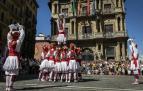 Todas las fotos de la salida de la Comparsa de Gigantes y Cabezudos en San Fermín Txikito.