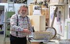 Toni Kowasch, un luthier alemán en la calle la Merced