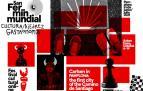 Cartel del campeonato de ajedrez San Fermín en Pamplona