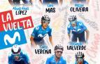 Equipo con el que correrá la Vuelta a España 2021 el equipo Movistar