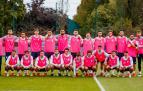 Imagen de equipo de la selección española previo al duelo frente a Francia