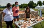 Presentación de los últimos hallazgos arqueológicos de las ruinas romanas de Zaldua