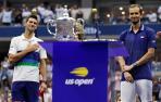 Djokovic y Medvedev