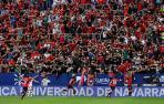 Foto del encuentro entre Osasuna y el Rayo Vallecano.
