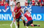 Manu Sánchez celebra el gol in extremis contra el Rayo Vallecano