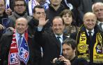 François Hollande no baja el pistón