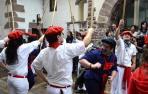 Elizondo se llena de tradición con el Baztandarren Biltzarra