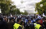 Unos 3.000 agentes, en la protesta de este sábado