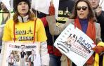 """Marcha por Madrid contra """"el deterioro de la Justicia"""""""