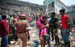 El derrumbe de un edificio en Bangladesh causa 170 los muertos