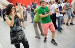 La Pamplonesa, música y también baile
