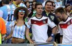Las aficiones de Argentina y Alemania toman Maracaná_2