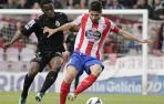 Partido entre el Lugo y el Santander
