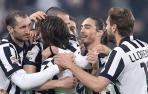 Pirlo celebra un gol con el Juventus