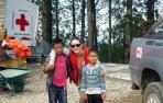 La cooperante navarra Adriana Ciriza regresa de Nepal tras un mes
