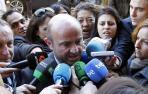 El ministro Luis de Guindos a su llegada al Foro este martes.