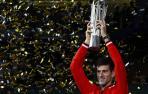 """Djokovic gana por tercera vez en Shanghái y presume de """"mandarín"""""""