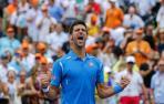 Djokovic gana en Miami y bate un récord de Nadal