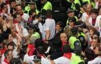 Dos condenados por los incidentes durante la procesión de San Fermín de 2014
