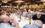 Dantxarinea recibe a 370 mayores en la fiesta de la canción vasca