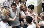 Arnaldo Otegi abre en Pamplona el ciclo de actos de EH Bildu 'Escuchar para mejorar'
