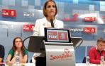 """María Chivite critica la """"debilidad"""" de Uxue Barkos"""