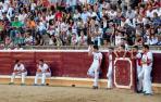 Tafalla reparará con urgencia la cubierta de los palcos de la plaza de toros