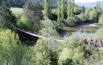 Puente colgante de Burgui