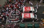 Cruz Roja atiende en la calle a 16 personas y, en la Unidad de Primera Atención a 87