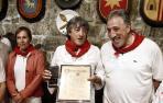 """Martín recibe el Gallico de Oro por inyectar un """"chute de ilusión y coraje"""""""