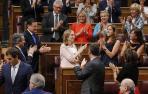 Ana Pastor presidirá el Congreso gracias a los votos de PP y C's