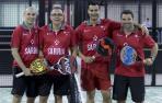 Cruchaga y Santos inauguran el Trofeo Señorío de Sarriá de Pádel
