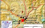 Pamplona y la Comarca despierta por un temblor de 4 grados