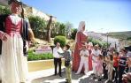 Miranda de Arga inaugura el 'Jardín de los Poetas' en el Casco Antiguo