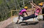 Narbarte acoge un curso de monitor de rescate en parques de aventura
